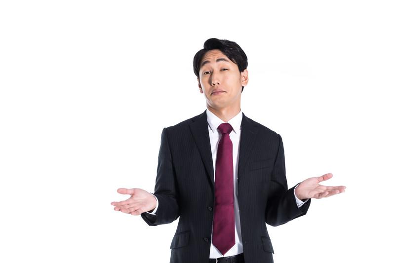 他人に何を言われても会社を辞める男性